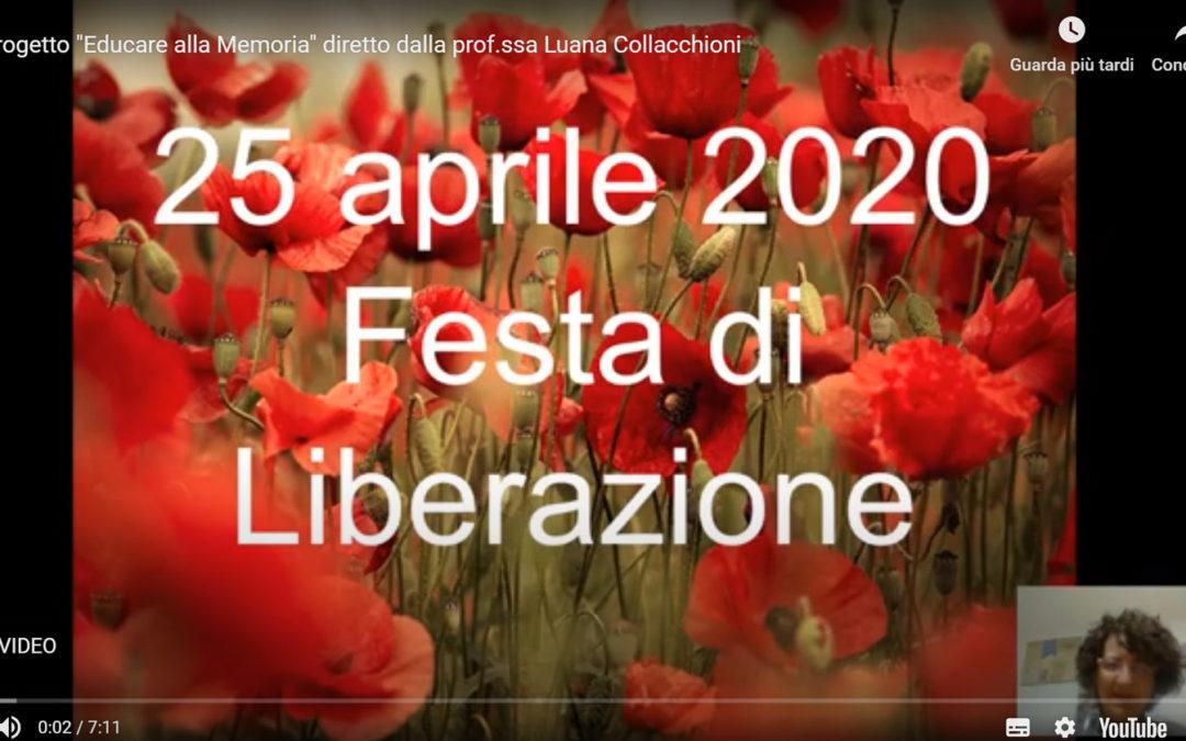 """Buon 25 Aprile!! """"Educare alla Memoria"""""""