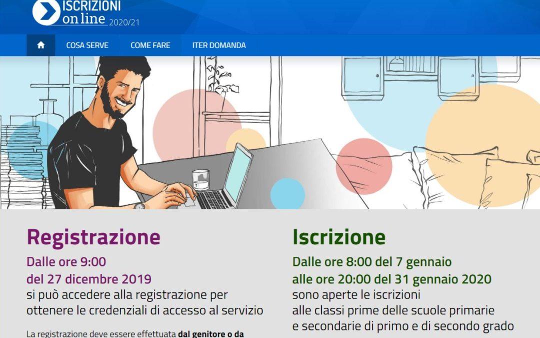 ISCRIZIONI ALLE CLASSI PRIME 2020/21
