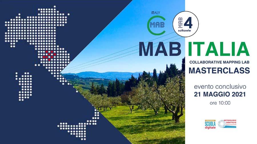 MASTERCLASS, evento conclusivo dei laboratori di mappatura collettiva MAB