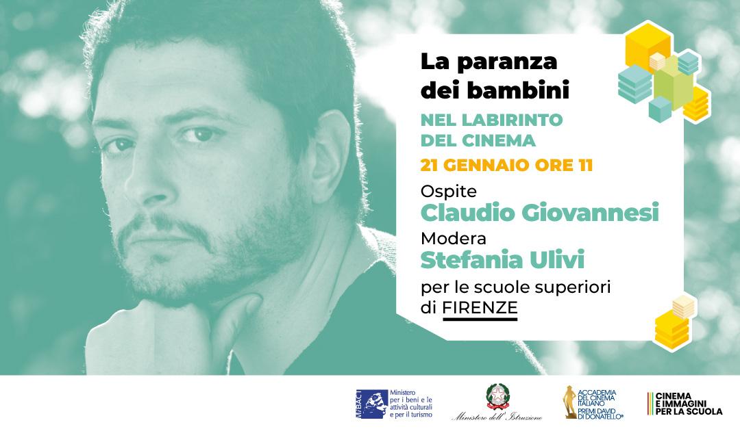 Masterclass con regista Claudio Giovannesi