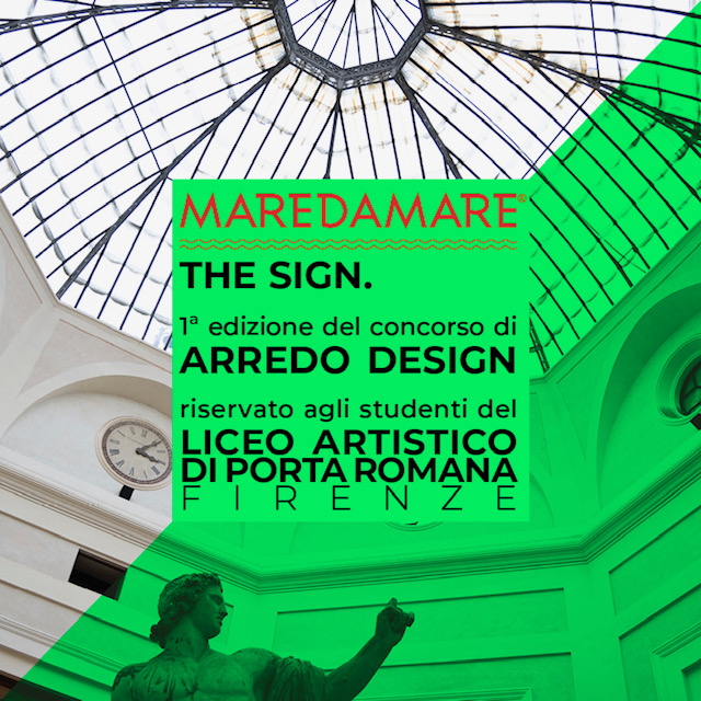 MAREDAMARE LANCIA IL CONCORSO 'THE SIGN'