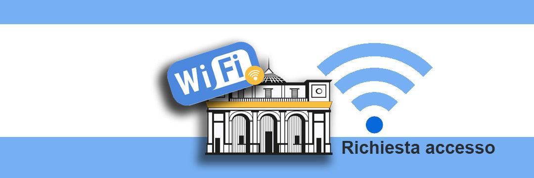 Richiesta accesso rete Wi-FI