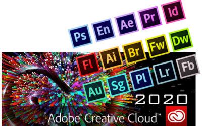 """LICENZA """"Adobe Creative Cloud 2020"""" per studenti docenti e personale dell'Istituto"""