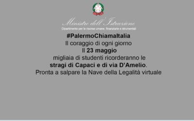 XXVIII Anniversario delle stragi di Capaci e Via D'Amelio – Palermo Chiama Italia 23 maggio 2020