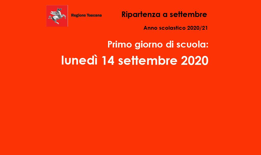 Calendario scolastico 2020-2021 – Regione Toscana