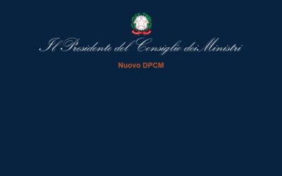 """DPCM del 14 gennaio 2021 sulle """" Misure urgenti di contenimento del contagio sull'intero territorio nazionale"""""""