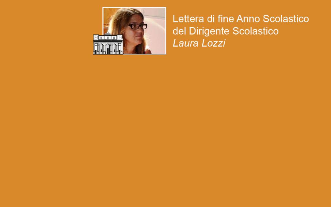Lettera di fine Anno Scolastico del Dirigente Scolastico Laura Lozzi
