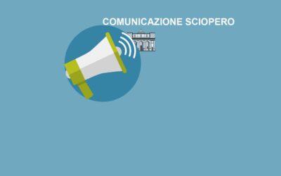 Comunicazione: SCIOPERO