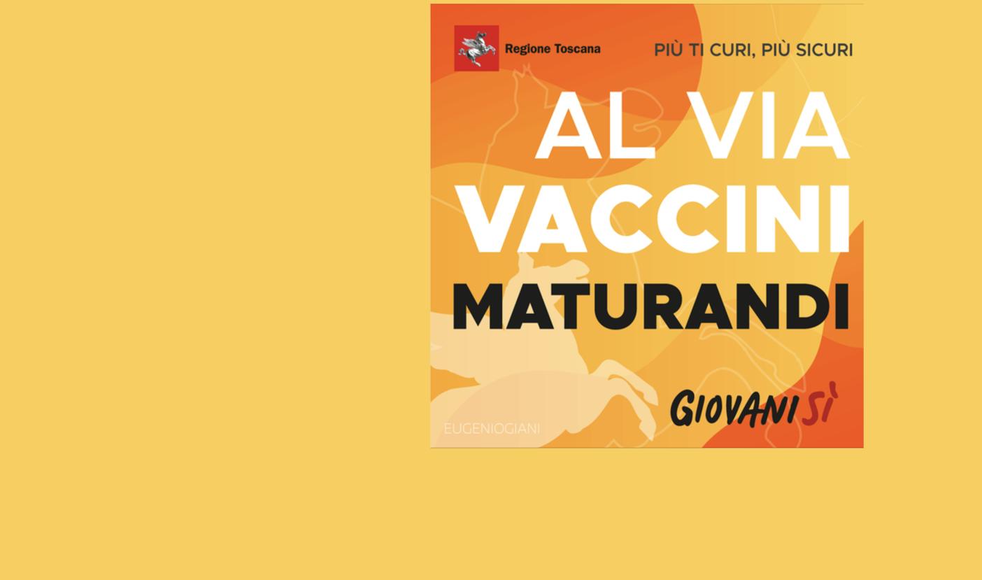 La Toscana non lascia indietro i giovani, anche i maturandi potranno prenotare il proprio vaccino.